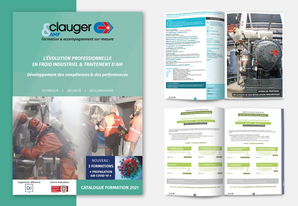catalogue de formations clauger & amf
